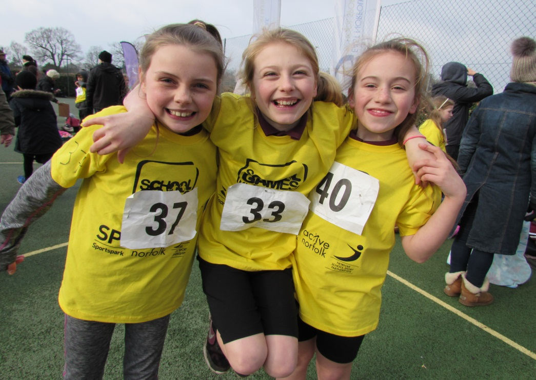 East Norfolk School Games Cross Crountry