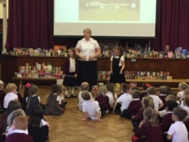 Harvest Festival- food galore!