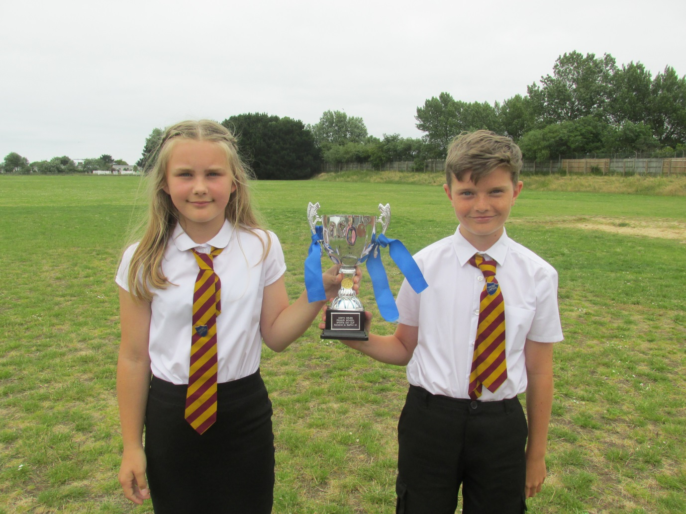 House Captains of the Winning House 2019